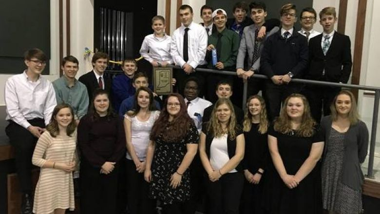 Jazz  Band earns a gold with distinction!