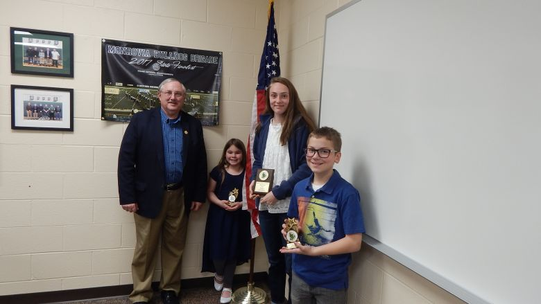 Congratulations!     April Students of the Month